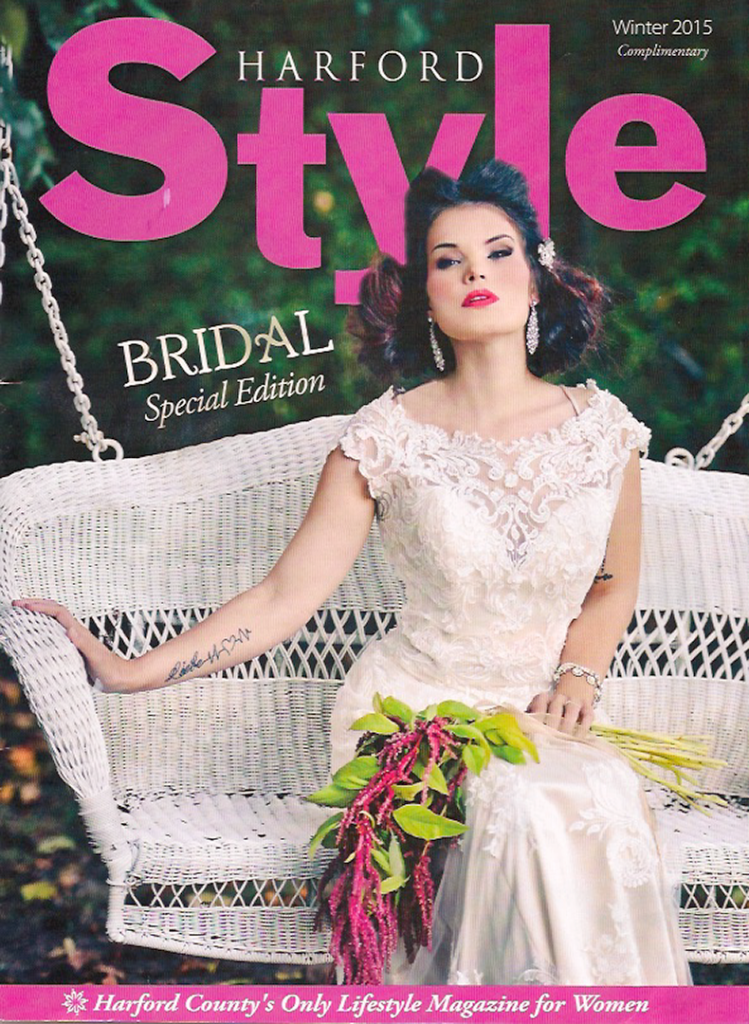 """Post Civil War chic"" was the theme for the hair and make-up on this Bridal editorial.  A specialty of Lisa Jones-Butz is time period inspired looks."
